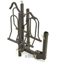 Mountain 2-Bike Fat Tire Bicycle Adjustable Hitch Rack Universal Folds Carrier