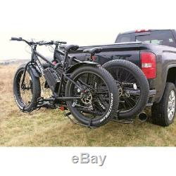 Mountain Bike Fat Tire Bicycle Adjustable Hitch Rack Universal Folds Carrier