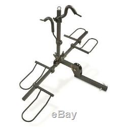 Mountain Bike Fat Tire Bicycle Hitch Rack Carrier Tray Universal Carrier SUV/Car