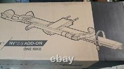 NEW Kuat NV 2.0 Add-On 1 Single Bike Car Rack Carrier Extension Gray and Orange