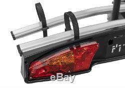 New Tow bar Ball 2 Bike Light Weight Aluminium Tilting Bicycle Carrier Platform
