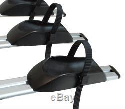 New Tow bar Ball 4 Bike Light Weight Aluminium Tilting Bicycle Carrier Platform