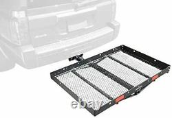 Pro Series 1040100 Solo Black 48 x 32 Hitch Mounted Cargo Carrier New USA