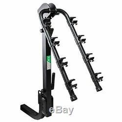 RaxGo Premium Hitch Mounted 4 Bike Rack Carrier, Sturdy Bicycle Rack â Fits