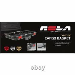 Rola Vortex Trailer Hitch Mount 1 1/4 Cargo Basket Carrier-300 Cap