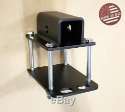 SR Bumper Receiver Adapter Mount on RV Travel Trailer Carrier Hitch (USA)
