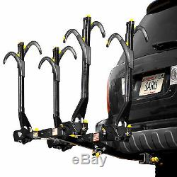 Saris Freedom Superclamp 4 Bike Universal Hitch Mount Rack Bicycle Carrier New