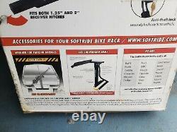 Softride 4-Bike Rack Hitch Mounted Bike Carrier
