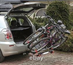 Super Deal! Titan 3 Bike Rack / Cycle Carrier Towbar Mounted Tilting 13pin plug