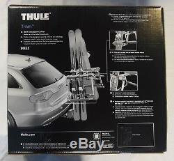THULE Tram 9033 Ski and Snowboard Hitch Rack Carrier with One-Key Lock System NIB