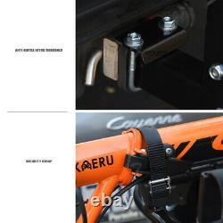 Topline 2-Bicycle Adjustable Foldable Hitch Mount Bike Rack Carrier Fits Honda
