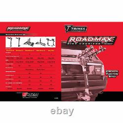 Trimax Road Max Blade Runner 4 Bike Rack Carrier Mount for 2 Inch Receiver Hitch