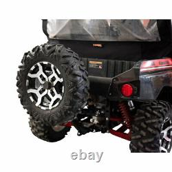 Tusk Hitch Mounted Spare Tire Carrier Fits KAWASAKI Teryx4 800 2014-2021