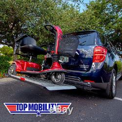 Universal Fully Automatic Scooter LIFT Hitch Mount Carrier Swing Away Option III