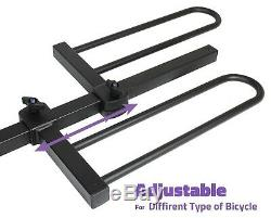 VENZO 4 Bike Bicycle Platform Style 2 Hitch Mount Car Rack Carrier