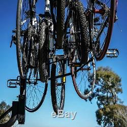 VENZO 5 Bicycle Bike Rack 2 Hitch Mount Car Carrier