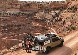 Vertical hitch rack, bike rack, six bike carrier, bicycle, mountain biking, alta