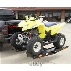 WMA 1000 lb Steel Quad ATV Go Cart Tow Hitch Mounted Carrier Trailer