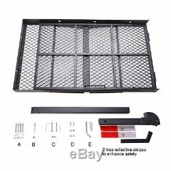 Wheelchair Trailer Hitch Carrier Scooter Mobility Carrier withLoading Ramp Mount