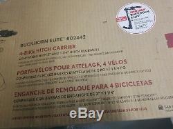 YAKIMA 4 Bike Carrier Bukchorn Elite #02442 BRAND NEW FACTORY SEALED