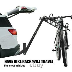 ZEMANOR 4 Bike Bicycle Rack 2 Hitch Mount Carrier Car Truck SUV All-Steel